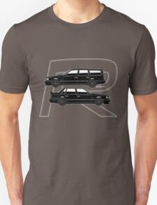 Volvo 850R T5-R Swedish Turbo Black Outline Unisex T-Shirt