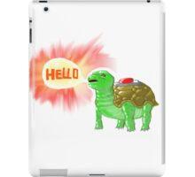 Mine turtle time iPad Case/Skin