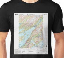 USGS TOPO Map Alaska AK Cordova C-5 355189 2000 63360 Unisex T-Shirt