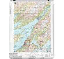 USGS TOPO Map Alaska AK Cordova C-5 355189 2000 63360 iPad Case/Skin
