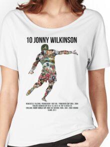 Jonny Wilkinson Tribute  Women's Relaxed Fit T-Shirt