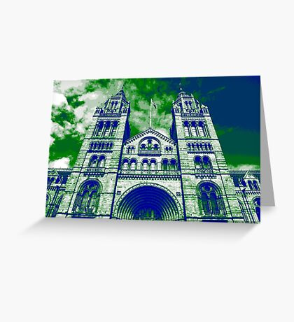 London's Natural History Museum Greeting Card