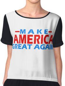 MAKE AMERICA GREAT AGAIN Chiffon Top