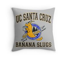 UC Santa Cruz Banana Slugs Throw Pillow