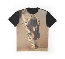 Running Cheetah Graphic T-Shirt