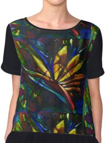 Bird of paradise flower Chiffon Top