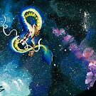 Space Serpent  by Kaelie Rush