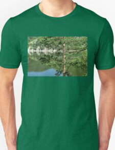 Summer in the Mountains - Forest Lakes and Pine Trees Beauty Unisex T-Shirt