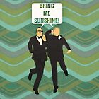 "Morecambe and Wise ""Bring Me Sunshine"" Print by dodadue89"