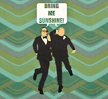 """Morecambe and Wise """"Bring Me Sunshine"""" Print by dodadue89"""
