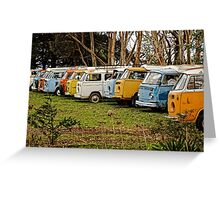 Retired Combi's Greeting Card