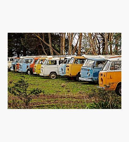 Retired Combi's Photographic Print