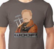 Lord Flashheart 'Woof' design Unisex T-Shirt