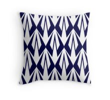 Kimi Raikkonen - Insignia Pattern (blue) Throw Pillow