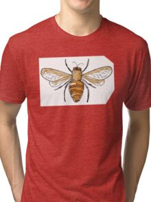 Black and gold bees Tri-blend T-Shirt