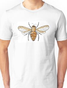 Black and gold bees Unisex T-Shirt