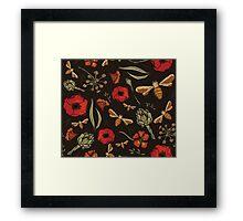 Garden nature Framed Print