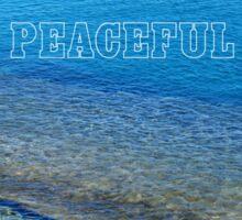 Peaceful - Greece Sticker
