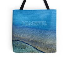 Peaceful - Greece Tote Bag