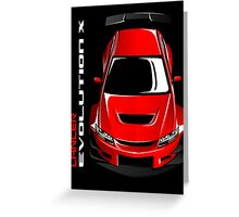 LANCER EVO  X GIFT Greeting Card