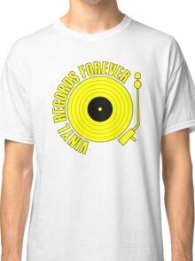 vinyl record yellow Classic T-Shirt