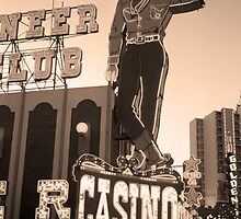 Las Vegas Downtown by Frank Romeo