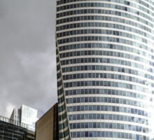 Editorial,14th May 2016:  Paris, France. Defense skyscrappers view, sunny day, glass, steel and reflections Sticker