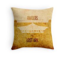 Raiders (aged) Throw Pillow