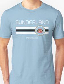 EPL 2016 - Football - Sunderland (Away Black) Unisex T-Shirt
