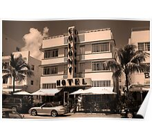 Miami Beach - Art Deco Poster