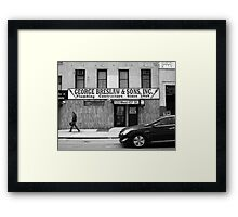 New York Street Photography 19 Framed Print