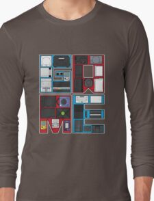 History of Video Games: 101 Long Sleeve T-Shirt