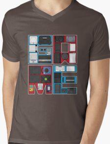 History of Video Games: 101 Mens V-Neck T-Shirt