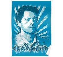 Castiel - Commander Poster