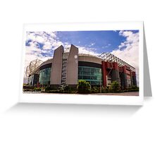 Theatre of dreams - old trafford Greeting Card