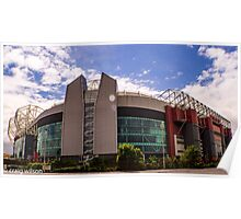 Theatre of dreams - old trafford Poster