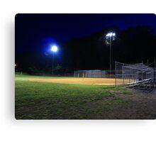 Night Baseball Canvas Print
