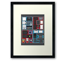 History of Video Games: 101 Framed Print
