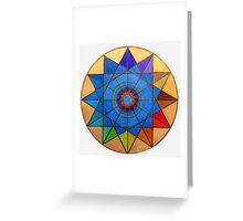 Mandala : Connection  Greeting Card