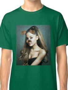 Ariana Grande - Snapchat Puppy Filter Classic T-Shirt