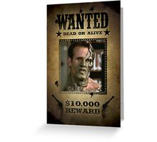 Buffy Adam 2 Big Bad Wanted Greeting Card