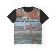 Dartside Quay Boatyard Graphic T-Shirt