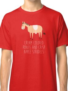 Sound of music pony Classic T-Shirt