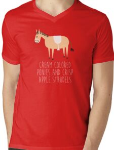 Sound of music pony Mens V-Neck T-Shirt