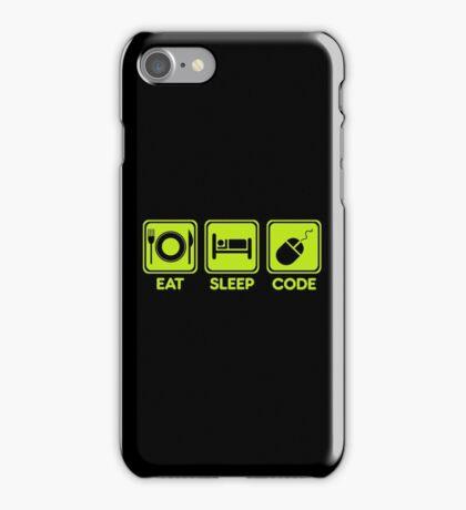 Programmer Eat Sleep Code iPhone Case/Skin