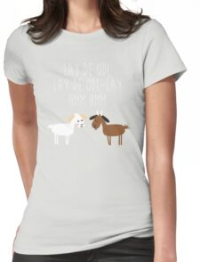Sound of music goat herd Womens Fitted T-Shirt