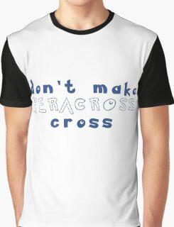 Don't Make Heracross Cross Graphic T-Shirt