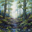 Enchanted Forest - oil painting by Avril Brand