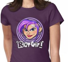 Riot Grrl Womens Fitted T-Shirt