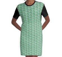 Greenery Graphic T-Shirt Dress